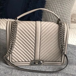 Rebecca Minkoff Quilted Jumbo Love Crossbody
